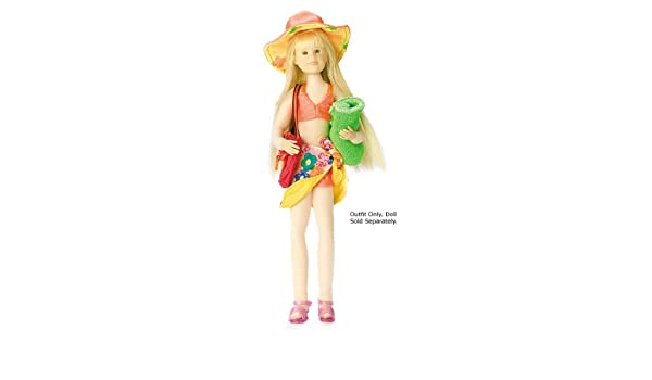 f80b7bb69e Amazon.com: ORANGE SWIMSUIT & SARONG by Only Hearts Club: Toys & Games