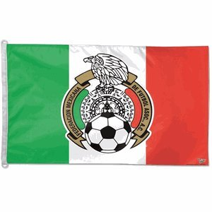 2014 World Cup Fifa Soccer Team MEXICO 28x38 Horizontal Flag