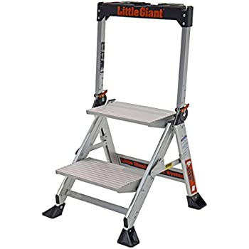 Little Giant Ladder Systems 11902 2 Step Jumbo Amazon Com