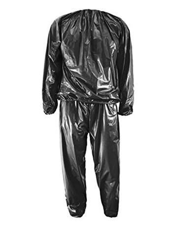 de9b5b19dfe Huihuger Combinaison de Sudation Sauna Suit pour Homme et Femme – -2 pcs  Perte de