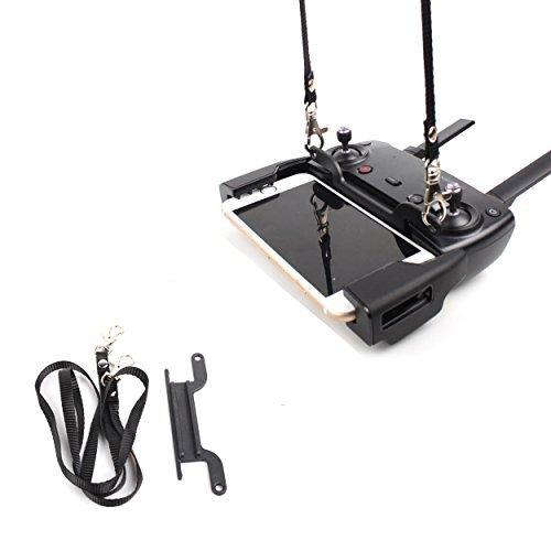 PENIVO Mavic Air Remote Controller Hanging Buckle Hook Bracket Plate,Transmitter Lanyard Strap Neck Belt Sling for DJI Mavic Air/Mavic pro/Spark Drone Quadcopter [並行輸入品] B07R3D3YZP