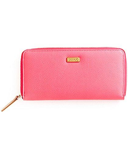 BAN.DO Bando Big Spender Money Wallet Neon Pink/Rose (Big Spender Wallet)