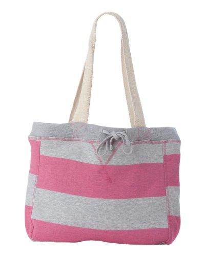 YogaColors Emoticon Cabana Stripes Sweatshirt Tote Bag