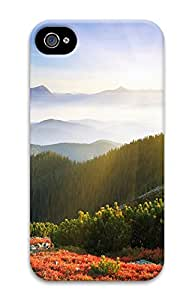 iPhone 4S CaseSwedish Sunrise 3D Custom iPhone 4/4S Case Cover