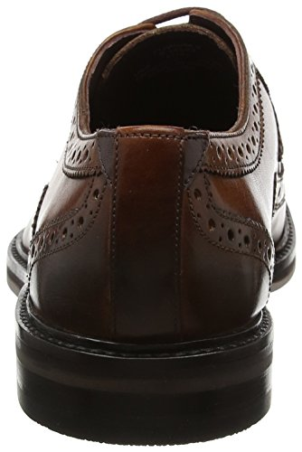Ted Baker Ttanum 3, Scarpe Stringate Basse Brogue Uomo Brown (Tan)