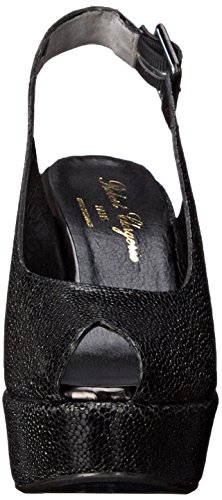 Robert Clergerie Women's Dyluc Wedge Pump Black Shgren zZ47i