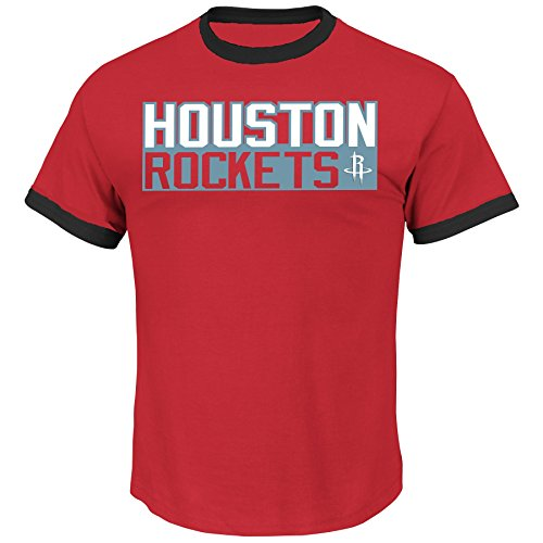 James Harden Houston Rockets #13 NBA Youth Vertical Player Name & Number T-Shirt (Youth Medium) James Cap Sleeve T-shirt