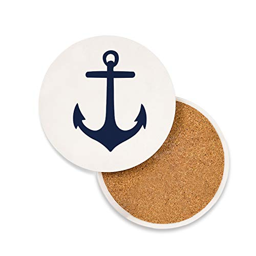 (Absorbent Ceramic Coasters for Drinks 4
