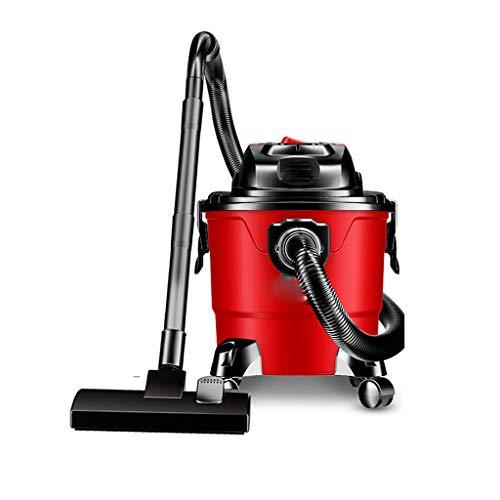 Mingteng Aspirador de Garaje Multifuncional Mojado/seco / soplado, Rojo