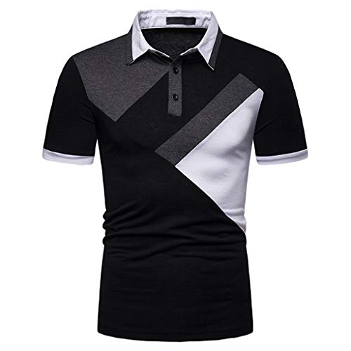 (2019 New Sexy T-Shirt, Limsea T Shirt for Men Clearence Sale Graphic Below 10 Black and Yellow White Blue V Neck 2019 Summer Men T Shirt Pack with Pocket Big and Tall)