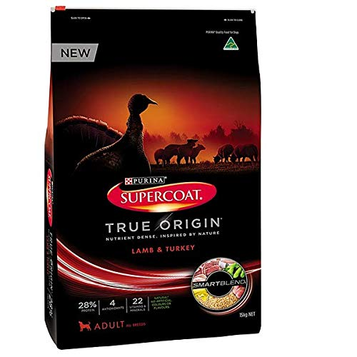 Supercoat Dog Food True Origin Lamb & Turkey Flavour 15kg