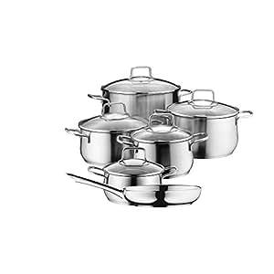 Wmf brilliant bater a de cocina brilliant 6 piezas for Amazon bateria cocina