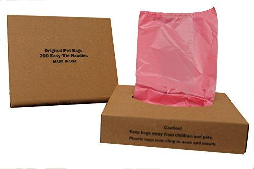 Originalpetbags 200 Black Easy Open & Easy-tie Handle 15