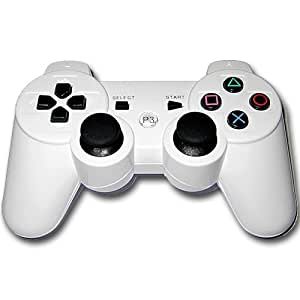 Wireless Controller Gamepad for PS3 Playstation 3 - White