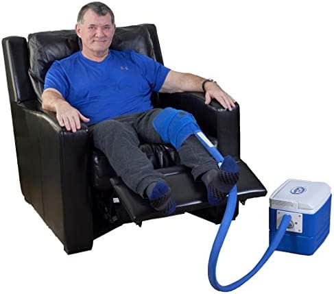 Polar Products Active Ice 3.0 Knee & Joint Cold Therapy System with Digital Timer Includes Knee Bladder, 9 Quart Cooler