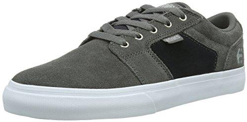 Etnies Barge Ls 4101000351 - Zapatillas de skate de ante para hombre /Grey/Navy 80