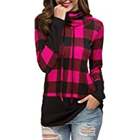 LAINAB Women's Casual Loose Long Sleeve Pullover Tunic Sweatshirt Blouse Tops