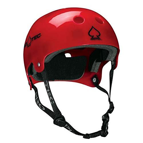 PROTEC Original Bucky Skate Helmet, Translucent Red, Large