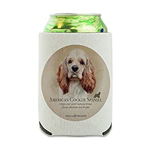 American Cocker Spaniel Dog Breed Can Cooler - Drink Sleeve Hugger Collapsible Insulator - Beverage Insulated Holder 3