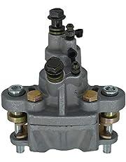 ZHENDAUS Rear Brake Caliper Pump With Pads Compatible for Polaris Sportsman 400 450 500 600 700 800 ATV 2003 2004 2005 2006 2007 2008 2009 2010 2011 2012 2013 2014,1910690, 1911075