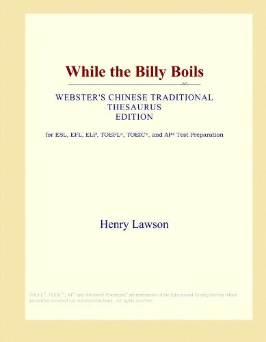 While the Billy Boils (Webster's Chinese Traditional Thesaurus Edition) by ICON Group International, Inc.