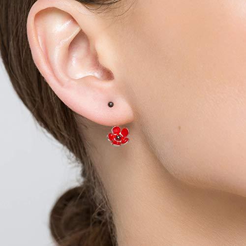 Aretes de plata esterlina con forma de oreja para mujer Pendientes ...