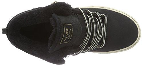 GlobeMotley Mid - Zapatillas Unisex adulto negro - Schwarz (20067 black/golden brown Fur)