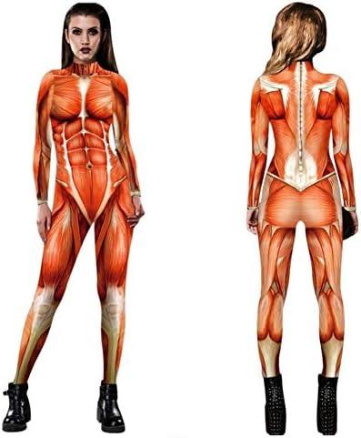 Halloween Cosplay 2020 進撃の巨人 Amazon | 骨格筋 全身タイツ Mサイズ/進撃の巨人風/筋肉/Halloween
