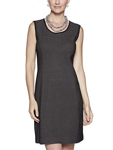 MISOOK Gray Honeycomb Pattern Knit Dress