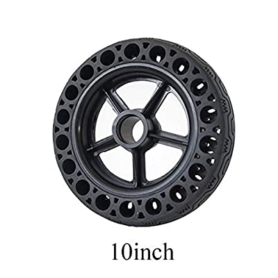GEZICHTA 8.5 Inch Front/Rear Scooter Tire Wheel Solid Replacement Wheel for for Xiaomi Mijia M365 Electric Scooter Solid Tire(10x2.125 inch): Home & Kitchen