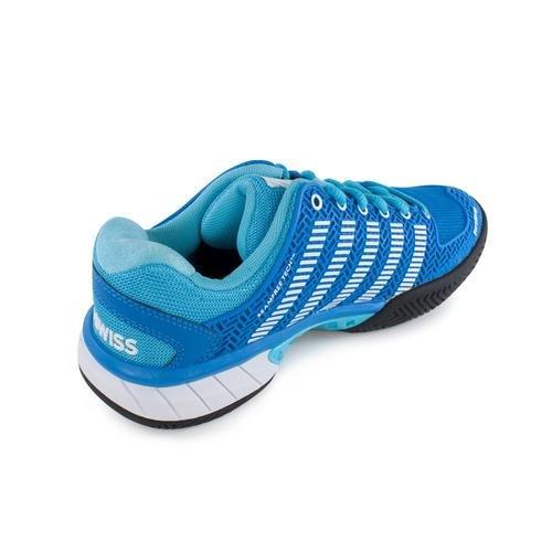 Zapatos Tenis K-swiss Hypercourt Express Para Mujer (aster Azul / Botón Bachelor / Blanco)
