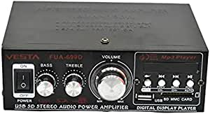 Amplifier 2 Channel Output Power / USB / FM / AUX / SD Card Hi Fi Stereo