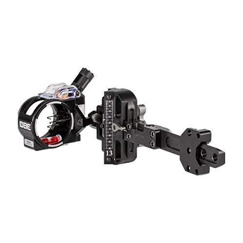 CBE Tek-Hybrid Pro Archery Hunting Right Hand Bow Sight - Single Pin Housing, .010