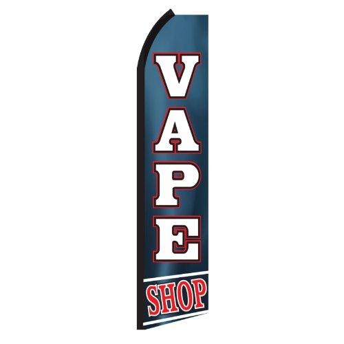 Vape Shop Swooper Flag by NEOPlex