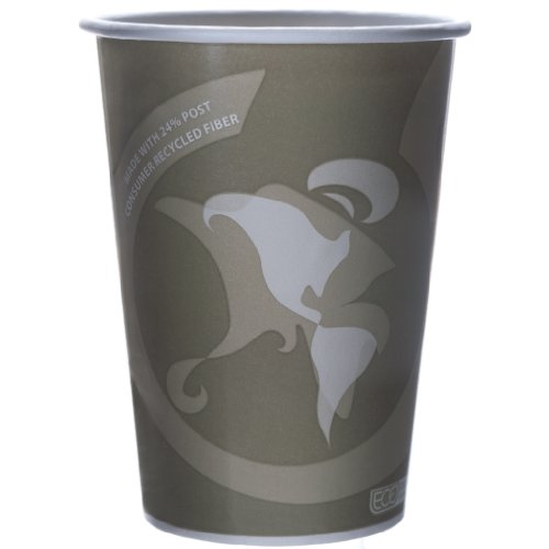 Eco-Products - Evolution World 24% Recycled Content Food Containers - 32oz. Soup Cup - EP-BRSC32-EW (Case 500) by Eco-Products, Inc