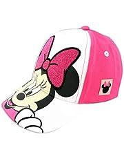 قبعة بيسبول بتصميم شخصيات ميني ماوس من ديزني للبنات، لعمر 2-4 سنوات