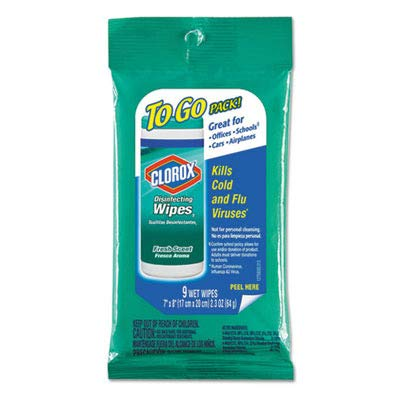 (Clorox Disinfecting Wipes to Go Pack Fresh Scent Case Pack 24 )
