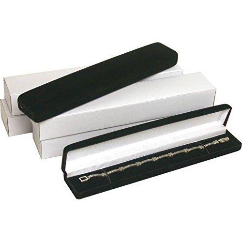 Black Bracelet Watch Jewelry Display product image
