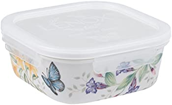 Lenox Butterfly Meadow Serve & Store Container Square Bowl