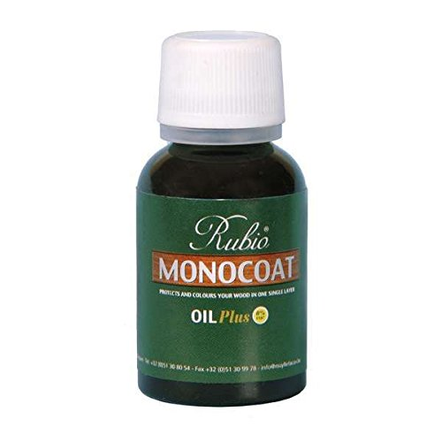 Rubio Monocoat Oil Plus 2C-A Sample Wood Stain Gris Belge 20ml by Rubio Monocoat