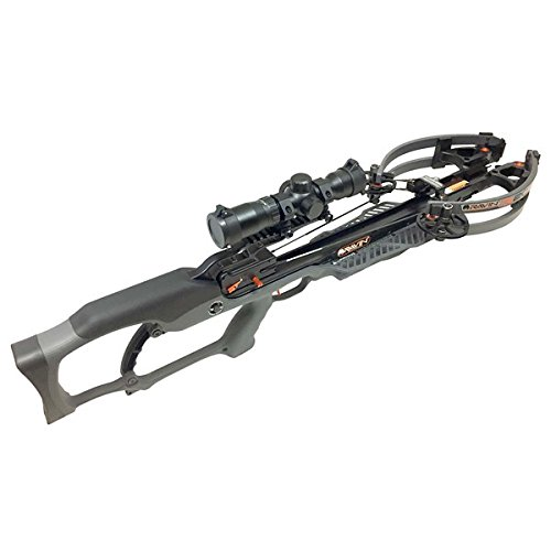 Ravin Crossbow R021 Package R20 Crossbow with HeliCoil, 400 Grain, Gunmetal Grey