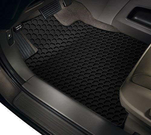 ToughPRO Tesla Model 3 Floor Mats Set - Frunk Mat - Trunk Mat- Storage Mat - All Weather - Heavy Duty - Black Rubber - (Made in The USA) - 2019 by ToughPRO (Image #2)