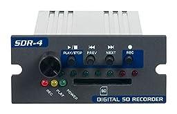 VocoPro SDR4 Channel Digital Multitrack Recorder