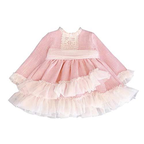 Hzjundasi Vestido De Encaje Para Ninas Bowknot Vestido De Tul