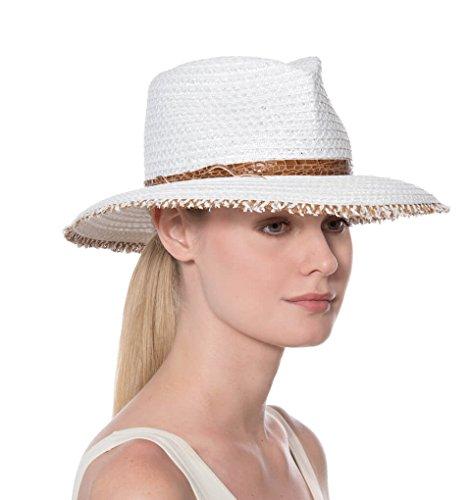 Eric Javits Fashion Designer Women's Headwear Hat - Squishee Feliz - (Designer Dress Hat)