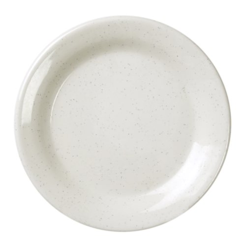 Global Goodwill Sandova Series 12-Piece Bread Plate, 6-1/4-Inch, Sandova