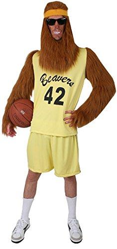 [Adult Teen Werewolf Costume, Size Adult Standard] (Wolf Adult Costumes Kit)