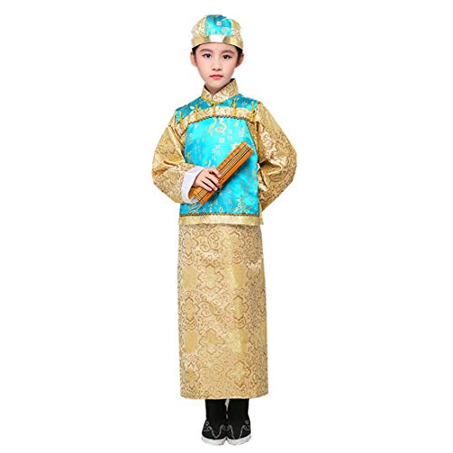 Qing Dynasty Costumes - Ez-sofei Boys' Ancient Chinese Traditional Hanfu