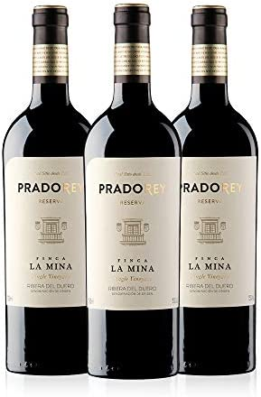 PRADOREY Finca La Mina-Vino tinto-Reserva-Ribera del Duero-3 Botellas-0,75 L