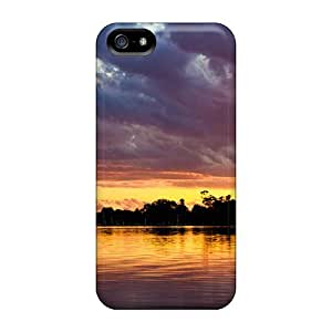Estebanrivera-7 Snap On Hard Case Cover Pelican In A Harbor At Sunset Protector For Iphone 5/5s